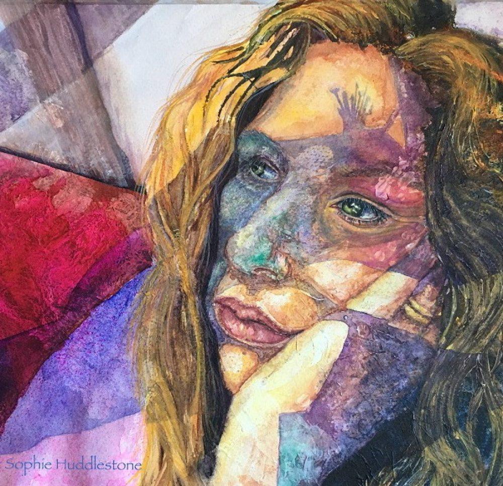 Sophie Huddlestone Self Portrait copyright Sophie Huddlestone SAH500