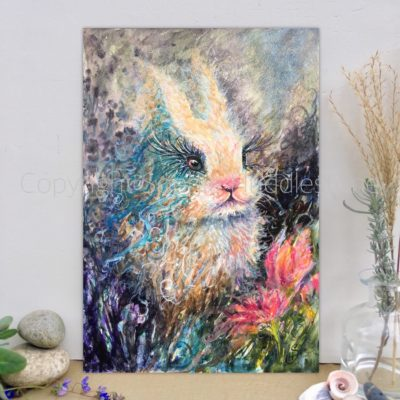 Rabbit Eventide Original Painting