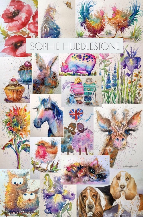 Sophie Huddlestone Paintings for sale