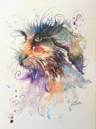 Mad Rabbit Original Painting