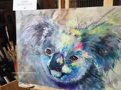 Koala Hope Original Painting