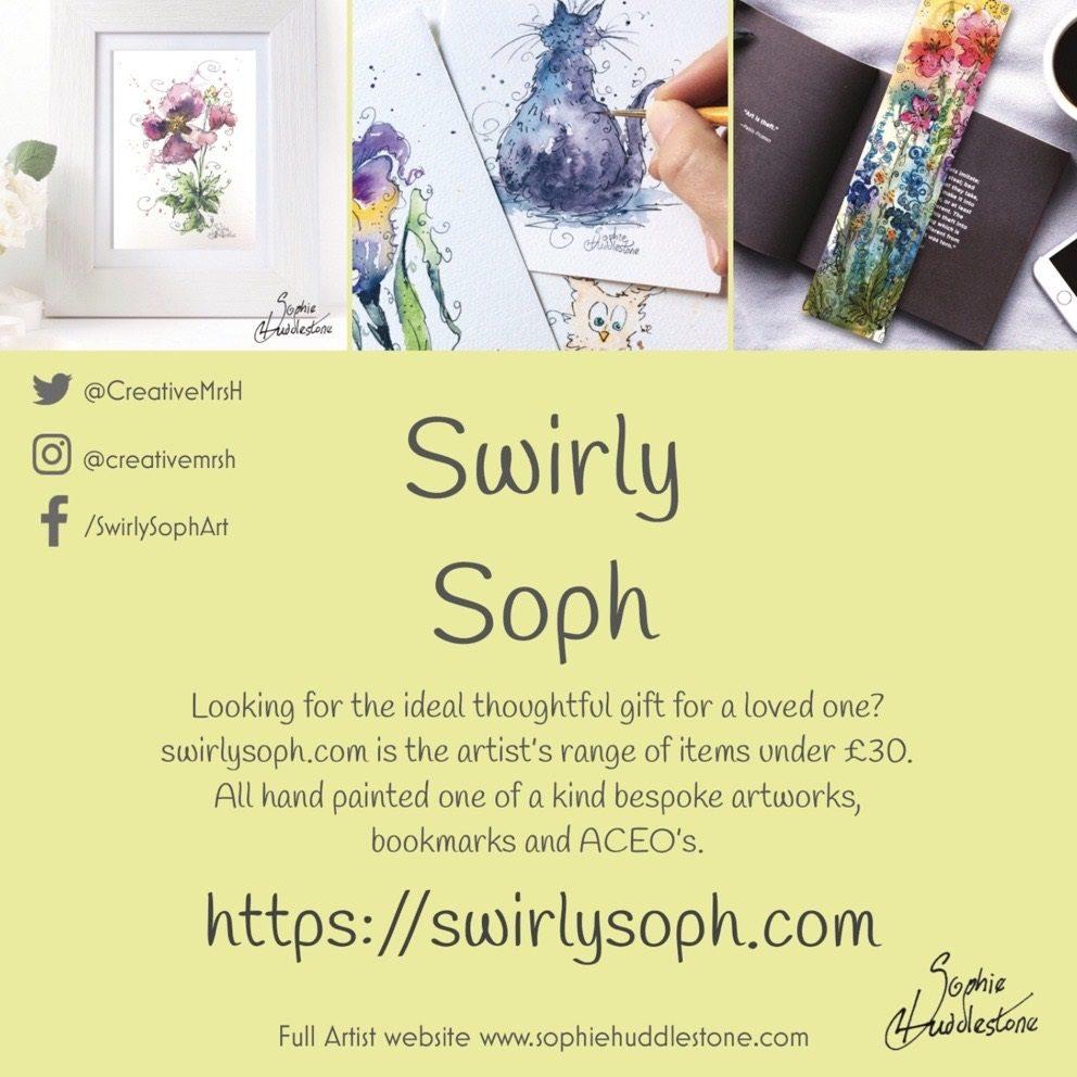 Sophie Huddlestone at swirlysoph com