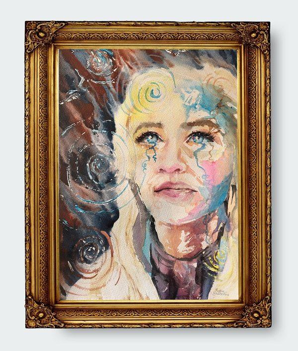 Portrait by Sophie Huddlestone
