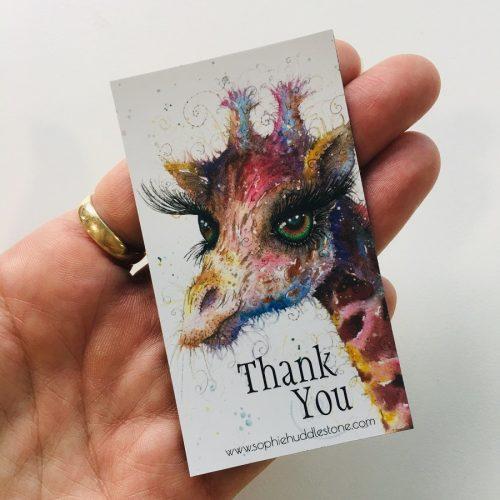 Sophie Huddlestone giraffe magnet