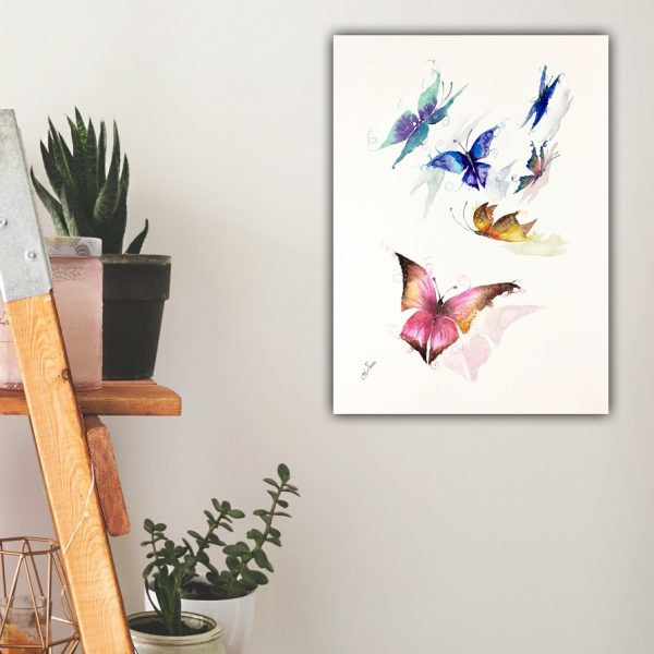 Sophie Huddlestone butterfly painting
