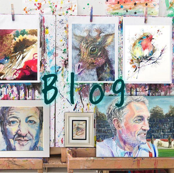 new art on Artist Sophie blog